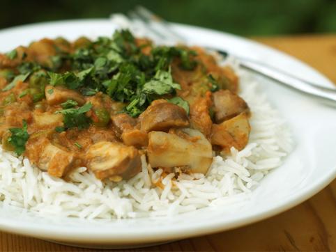 Una receta hindú de sabores suaves
