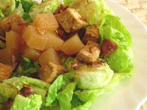 recetas de tofu en ensalada