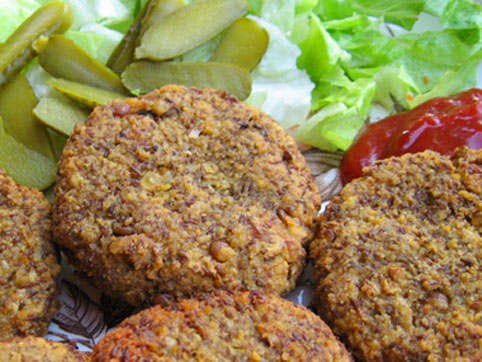 Hamburguesas De Lentejas Recetas Veganas Recetas Vegetarianas - Recetas-para-vegetarianos-sencillas