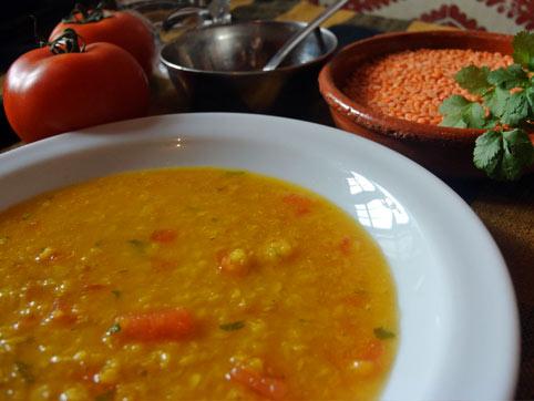 Masoor Dal Sopa India De Lentejas Rojas Recetas Veganas Recetas Vegetarianas Vegetarianismo Net