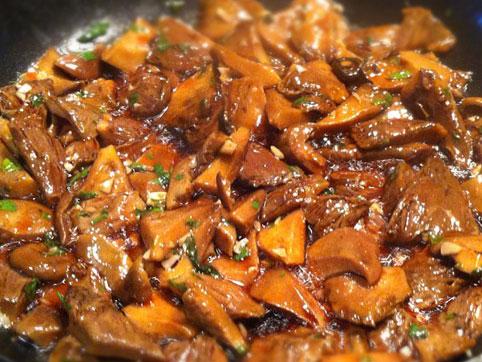 n scalos al ajillo recetas veganas recetas vegetarianas