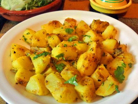 Aloo Masala - Patatas al estilo de la India