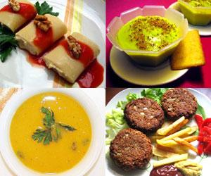 Recetas veganas, recetas vegetarianas fáciles